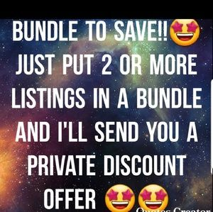 Other - Bundle to save 😁